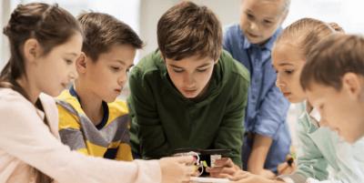 students- focussing- wondering